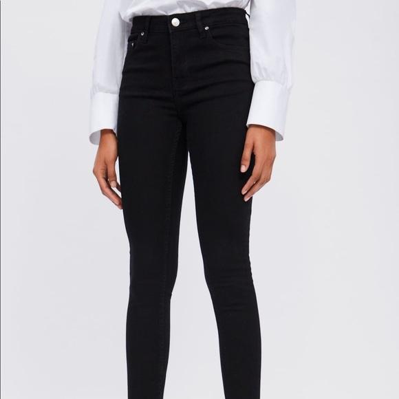 Zara Black Skinny Jeans - NWT